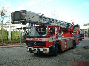 Mit der Feuerwehr hoch hinaus
